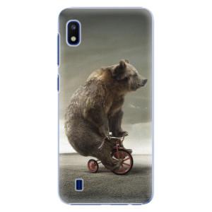 Plastové pouzdro iSaprio Bear 01 na mobil Samsung Galaxy A10