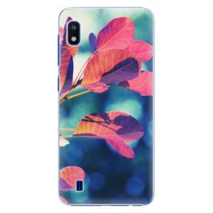 Plastové pouzdro iSaprio Autumn 01 na mobil Samsung Galaxy A10