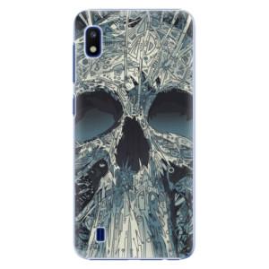 Plastové pouzdro iSaprio Abstract Skull na mobil Samsung Galaxy A10