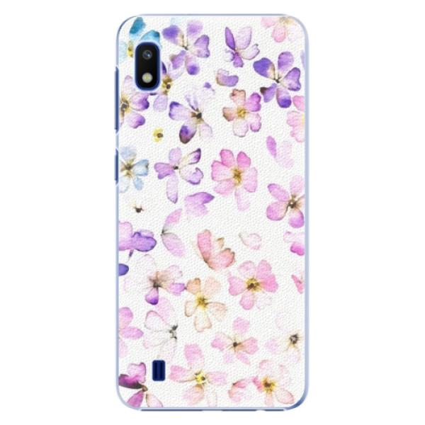 Plastové pouzdro iSaprio Wildflowers na mobil Samsung Galaxy A10 (Plastový obal, kryt, pouzdro iSaprio Wildflowers na mobil Samsung Galaxy A10)