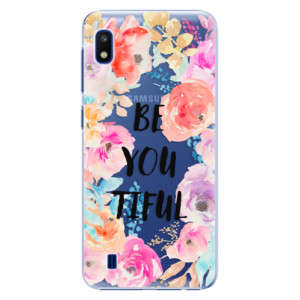 Plastové pouzdro iSaprio BeYouTiful na mobil Samsung Galaxy A10