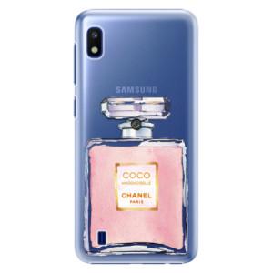 Plastové pouzdro iSaprio Chanel Rose na mobil Samsung Galaxy A10