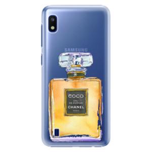 Plastové pouzdro iSaprio Chanel Gold na mobil Samsung Galaxy A10