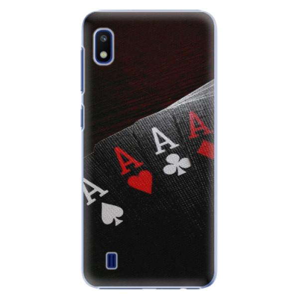 Plastové pouzdro iSaprio Poker na mobil Samsung Galaxy A10 (Plastový obal, kryt, pouzdro iSaprio Poker na mobil Samsung Galaxy A10)