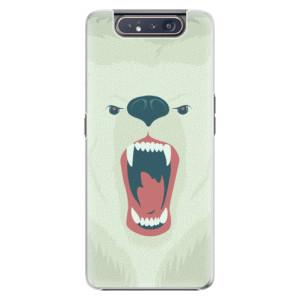 Plastové pouzdro iSaprio Angry Bear na mobil Samsung Galaxy A80