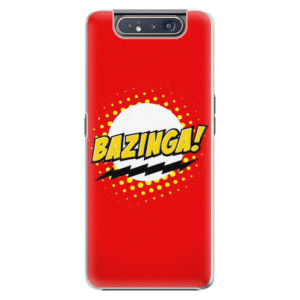 Plastové pouzdro iSaprio Bazinga 01 na mobil Samsung Galaxy A80