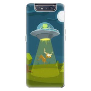 Plastové pouzdro iSaprio Alien 01 na mobil Samsung Galaxy A80
