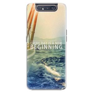 Plastové pouzdro iSaprio Beginning na mobil Samsung Galaxy A80