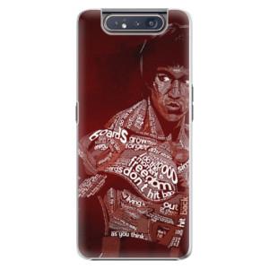 Plastové pouzdro iSaprio Bruce Lee na mobil Samsung Galaxy A80