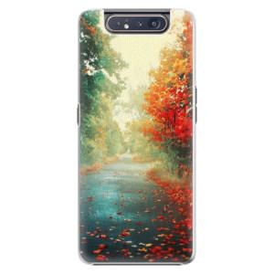 Plastové pouzdro iSaprio Autumn 03 na mobil Samsung Galaxy A80