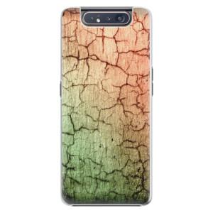 Plastové pouzdro iSaprio Cracked Wall 01 na mobil Samsung Galaxy A80