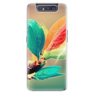 Plastové pouzdro iSaprio Autumn 02 na mobil Samsung Galaxy A80