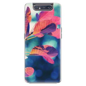 Plastové pouzdro iSaprio Autumn 01 na mobil Samsung Galaxy A80