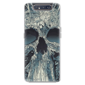Plastové pouzdro iSaprio Abstract Skull na mobil Samsung Galaxy A80