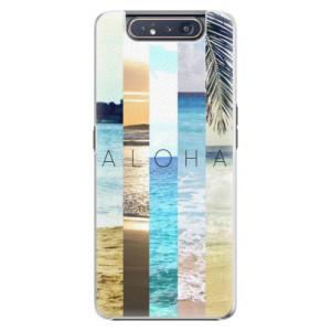 Plastové pouzdro iSaprio Aloha 02 na mobil Samsung Galaxy A80