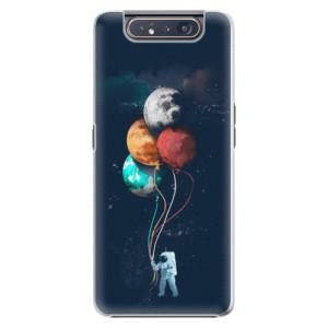 Plastové pouzdro iSaprio Balloons 02 na mobil Samsung Galaxy A80