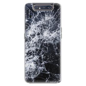 Plastové pouzdro iSaprio Cracked na mobil Samsung Galaxy A80