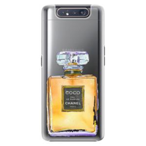 Plastové pouzdro iSaprio Chanel Gold na mobil Samsung Galaxy A80