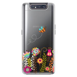 Plastové pouzdro iSaprio Bee 01 na mobil Samsung Galaxy A80