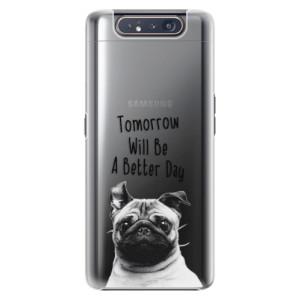 Plastové pouzdro iSaprio Better Day 01 na mobil Samsung Galaxy A80