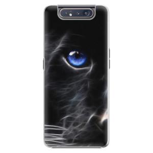Plastové pouzdro iSaprio Black Puma na mobil Samsung Galaxy A80