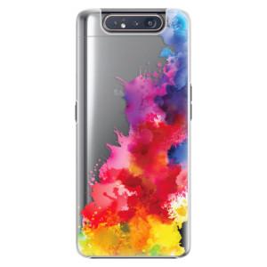 Plastové pouzdro iSaprio Color Splash 01 na mobil Samsung Galaxy A80