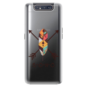 Plastové pouzdro iSaprio BOHO na mobil Samsung Galaxy A80