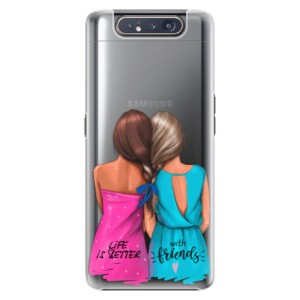 Plastové pouzdro iSaprio Best Friends na mobil Samsung Galaxy A80