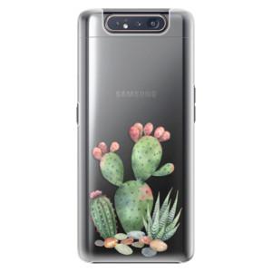Plastové pouzdro iSaprio Cacti 01 na mobil Samsung Galaxy A80