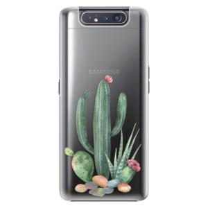 Plastové pouzdro iSaprio Cacti 02 na mobil Samsung Galaxy A80