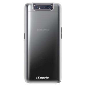 Plastové pouzdro iSaprio 4Pure mléčné bez potisku na mobil Samsung Galaxy A80