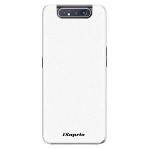 Plastové pouzdro iSaprio 4Pure bílé na mobil Samsung Galaxy A80