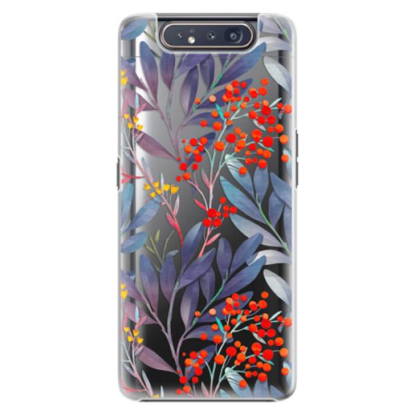 Plastové pouzdro iSaprio Rowanberry na mobil Samsung Galaxy A80 (Plastový obal, kryt, pouzdro iSaprio Rowanberry na mobil Samsung Galaxy A80)