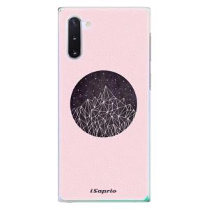 Plastové pouzdro iSaprio Digital Mountains 10 na mobil Samsung Galaxy Note 10