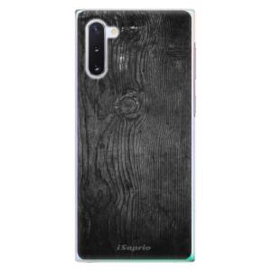 Plastové pouzdro iSaprio Black Wood 13 na mobil Samsung Galaxy Note 10