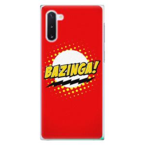 Plastové pouzdro iSaprio Bazinga 01 na mobil Samsung Galaxy Note 10