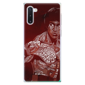 Plastové pouzdro iSaprio Bruce Lee na mobil Samsung Galaxy Note 10
