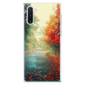 Plastové pouzdro iSaprio Autumn 03 na mobil Samsung Galaxy Note 10