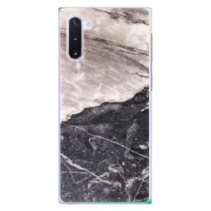 Plastové pouzdro iSaprio BW Marble na mobil Samsung Galaxy Note 10