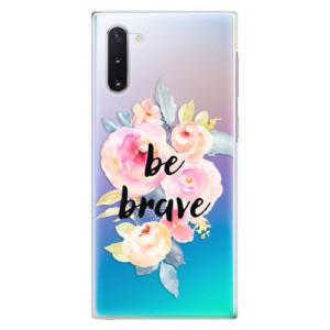 Plastové pouzdro iSaprio Be Brave na mobil Samsung Galaxy Note 10