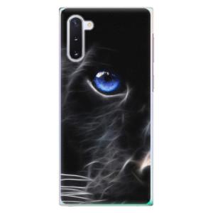 Plastové pouzdro iSaprio Black Puma na mobil Samsung Galaxy Note 10