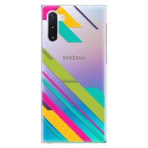 Plastové pouzdro iSaprio Color Stripes 03 na mobil Samsung Galaxy Note 10