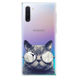 Plastové pouzdro iSaprio Crazy Cat 01 na mobil Samsung Galaxy Note 10