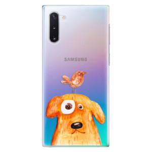 Plastové pouzdro iSaprio Dog And Bird na mobil Samsung Galaxy Note 10