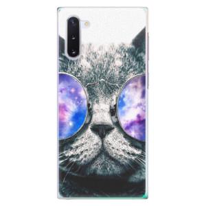 Plastové pouzdro iSaprio Galaxy Cat na mobil Samsung Galaxy Note 10