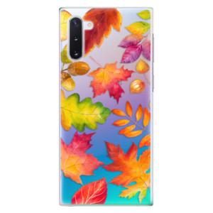 Plastové pouzdro iSaprio Autumn Leaves 01 na mobil Samsung Galaxy Note 10