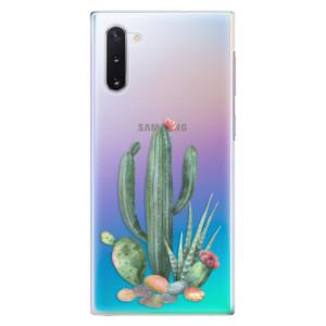 Plastové pouzdro iSaprio Cacti 02 na mobil Samsung Galaxy Note 10