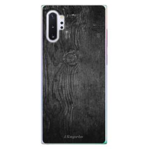 Plastové pouzdro iSaprio Black Wood 13 na mobil Samsung Galaxy Note 10 Plus