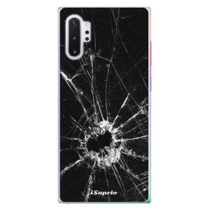 Plastové pouzdro iSaprio Broken Glass 10 na mobil Samsung Galaxy Note 10 Plus