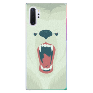 Plastové pouzdro iSaprio Angry Bear na mobil Samsung Galaxy Note 10 Plus